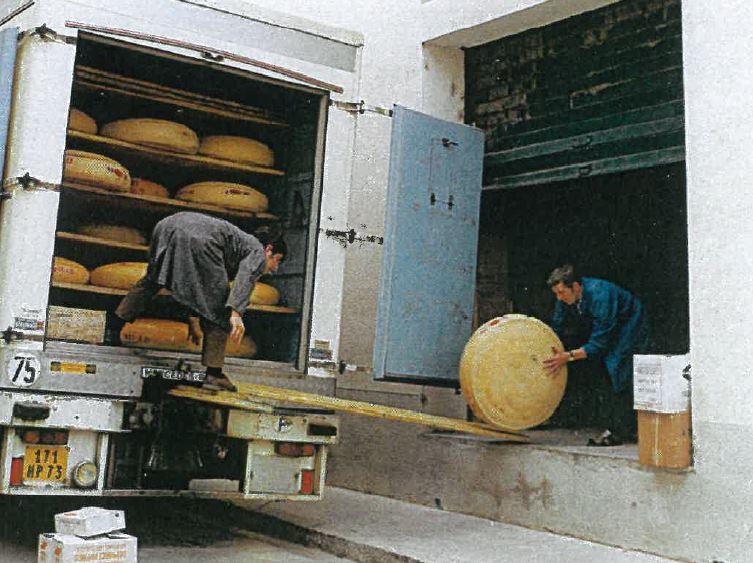 L'Emmental est produit par meule de 75 Kg