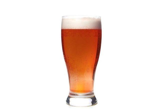De l'Emmental et une bière rousse de Savoie